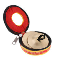 2pcs Belly Dance Finger Cymbals Zills Belly Dancing Accessories & Case Decor