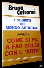 BRUNO COTRONEI - I SEGRETI DEL MONDO ARTISTICO COME SI FA A FAR SOLDI CON L'ARTE