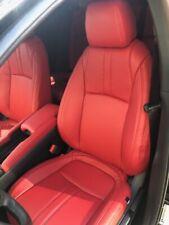 2017 2021 Honda Civic 4dr Sport Sedan Custom Red Leather Upholstery