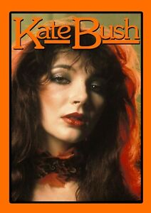 "Reproduction Alternate ""Kate Bush - Pose"" Poster, Rock, Size A2"