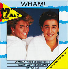 "WHAM - THE 12"" MIXES CD ~ GEORGE MICHAEL / WHAM! ~ 70's POP / DANCE *NEW*"