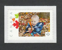 BABY BOY FIRST AUTUMN = picture postage stamp MNH Canada 2013 [p3sn16]