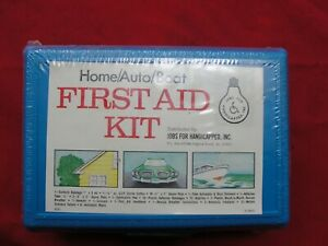 All-Purpose Portable Emergency First Aid Kit Home Auto Marine Travel Truck Work