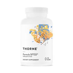 THORNE Research Formel SF722® Undecylensäure 250 Gelcaps, VERSAND WELTWEIT