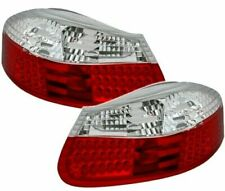PORSCHE BOXSTER 986 CLEAR LED REAR TAIL BACK LIGHTS 1996 -2004