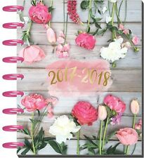 NEW MAMI The Classic Medium Happy Planner - Wildflower 2017-2018