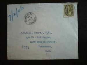 Postal History - Canada - Scott# 92