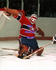 HOFer & 6X CUP WINNER #29 Ken DRYDEN Big KICK Save MONTREAL Canadiens 8X10 NEW!!