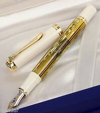 STILOGRAFICA PELIKAN  Souveran M400 Tortoiseshell white - F or M nib available