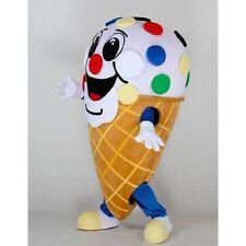 2019 Ice Cream Shop Cone Mascot Costume Restaurant Sale Adult Suit Express Gift