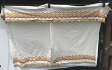 Vintage Curtain Tier Set