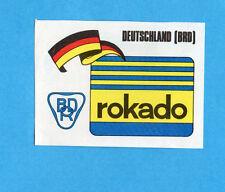 SPRINT '74-PANINI-Figurina n.146- ROKADO GERMANIA BRD-STEMMA/BADGE -Recuperata