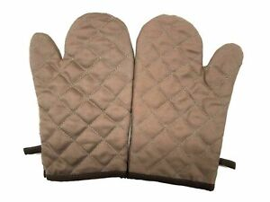 1 Pair Oven Gloves Kitchen Cooking Thick Heat Resistant Mitt Mittens Pot Holders