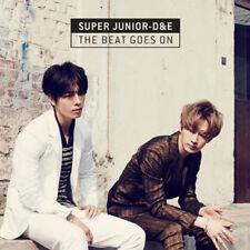 SUPER JUNIOR D&E [THE BEAT GOES ON] 1st Mini Album NORMAL CD+F.Buch+Karte SEALED