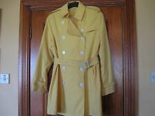 Ladies German Size 14-16 Bright Yellow Coat Brand New without Tags