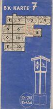 Aral Strassenkarte LandkarteStadtplänen BV Karte Deutschland Blatt 7 II/3 1937