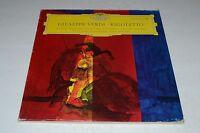 Giuseppe Verdi~Rigoletto~Deutsche Grammophon LPEM 19 222/23~2 LP w/ Insert