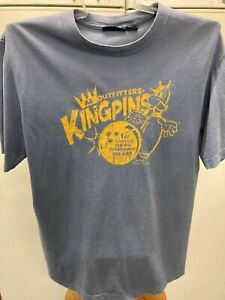 MEN'S AMERICAN EAGLE OUTFITTERS KINGPIN T-SHIRT - SIZE MEDIUM - GOOD CONDITION