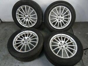 """Jaguar S Type 1992 - 2008 17"""" Alloy Wheel & Tyre Full Set 235 55 R17"""