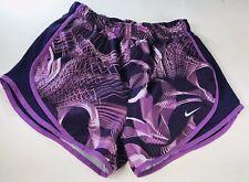 Nike Dri Fit Shorts Womens Sz S Purple White