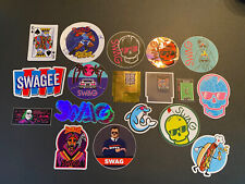 Swag Golf Sticker Set 18 Stickers! Legend Of Swag, Game Over, & More!