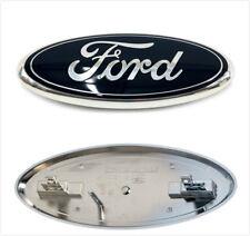 New 2005-2007 Black F250 F350 Super Duty Front Grille 9'' Badge Emblem For Ford