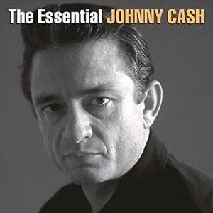 JOHNNY CASH - THE ESSENTIAL - 2 LP Remastered VINYL NEW ALBUM