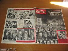SORRISI E CANZONI=1957/27=FESTIVAL CANZONE INTERNAZIONALE  VENEZIA=EUROFESTIVAL