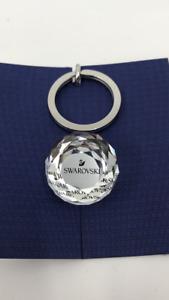 SWAROVSKI CRYSTAL 25 mm Ball Key Ring Silver Chain Charm SWAN 5430351 In Box