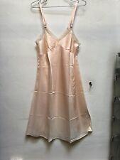 Vintage 40's 50's Slip Dress Dead Stock Size 36