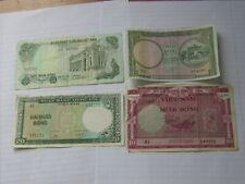 4 Pcs South Vietnam Notes