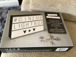 Cinema Light Box (A4 Size)