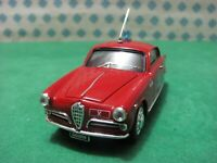 "ALFA ROMEO Giulietta 1300cc. Sprint Bertone ""Polizia 1955"" - 1/43 Bang 7151 LE"