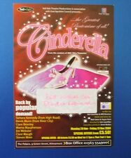 THEATRE FLYER CINDERELLA SIGNED BY TAMARA KENNEDY [ TAKE THE HIGH ROAD ].