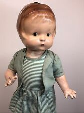 """14� Vintage Antique Effanbee Doll Co. """"Patsy� Brown Painted Eyes Adorable #Sf"""