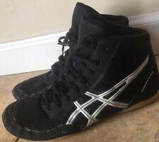 Asics Matflex Wrestling Shoes Men's 6.5 Black Mid-Top