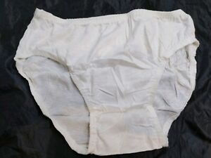 Vintage Botany 500 Low Rise Briefs Bikini Underwear White Small New Without Tags