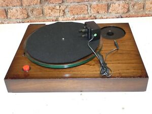 Manticore Mantra Vintage Record Deck Player Turntable (No Tonearm Or Lid)