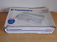 Commodore Amiga 500 Box Only - No Inserts - Box In Rough Condition