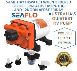 Seaflo RV Supreme 12v Water Pump for Caravan, Motorhome, Camper Trailer, Boat