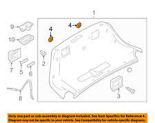 AUDI OEM 04-17 A8 Quattro Interior-Bezel Retainer N90657502