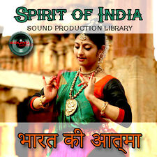 INDIA. SPIRIT of INDIA - Huge Multi-Layer WAV/Kontakt Production Library on 2DVD