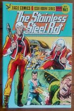 STAINLESS STEEL RAT 1, EAGLE COMICS, OCTOBER 1985, VF-