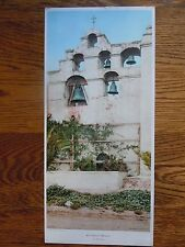 **Vintage San Gabriel Mission Photograph Los Angeles California Bell Tower 1918*