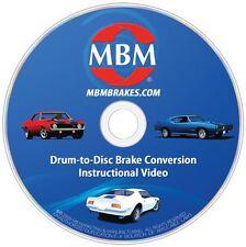 "Camaro Disc Conversion, 8"" Black Powder Coated Pwr Conversion Kit"