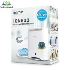NEW Ionmax ION 632 Desiccant Dehumidifier 10L Fluid / Day Voted No1 By Choice