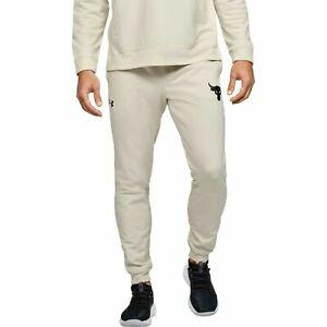 Under Armour Men's Pants Project Rock Terry Joggers Sweatpants Size 1355634 110
