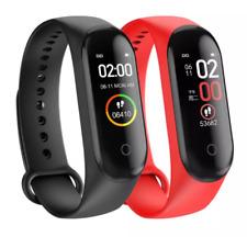 Bluetooth M4 Smart Watch (Heart Rate Blood Pressure Fitness Tracker Wristband)