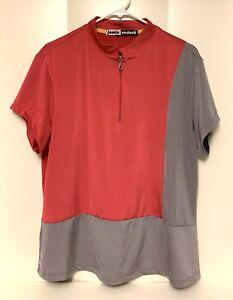 Jamie Sadock Color block Women's XL Golf Tennis Shirt Top short sleeve