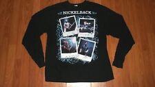 XL Hard Rock Group NICKELBACK Dark Horse Longsleeve CONCERT T-Shirt men womens